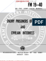 1964 US Army Vietnam War Enemy Prisoners of War & Civilian Internees 56p