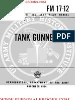 1964 Us Army Vietnam War Tank Gunnery 260p