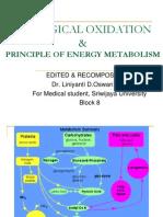 BIOLOGICAL OXIDATION & Principle of Energy Metabolism