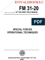 1965 US Army Vietnam War SPECIAL FORCES Operational Techniques 541p