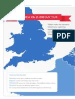 TOPdesk on European Tour
