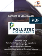 Rapport Veille Salon Pollutec 2013