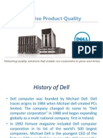 Dell Computer Summary