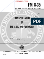 1966 US Army Vietnam War Transportation of the Sick & Wounded 172p