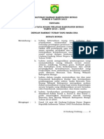 Peraturan Daerah Kabupaten Bungo Nomor 9 Tahun 2013 Tentang Rencana Tata Ruang Wilayah Kabupaten Bungo Tahun 2013 - 2033