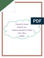 Proyecto de Lectura