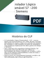 Controlador Lógico Programável S7 -200 Siemens