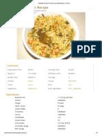 Vegetable Biryani Recipe by Sarita Bhandarkar _ Ifood Sanjeev Kapoor