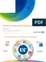 Unified Communications - Mark Beranek