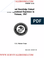 1967 US Marine Corps Professional Knowledge Gained From Operational Experience in Vietnam 511p