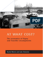 Clements, Luke. Morris, Rachel. at What Cost the Economics of Gypsy and Traveller Encampments 2002