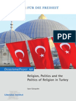 Religion, Politics and the Politics of Religion in Turkey