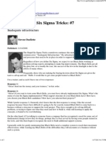 Top Ten Stupid Six Sigma Tricks_ #7 - Ouellette