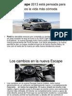 La Ford Escape 2013