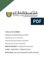 Report Presentation(SDAM)