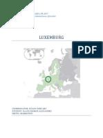 Luxemburg Geografie Economica