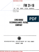 1968 US Army Vietnam War Long Range Reconnaissance Patrols 31p
