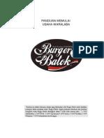 Panduan Awal Burger Batok