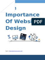 The Importance Of Website Design