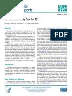 National Vital Statistics Reports, Vol. 61, No. 6, October 10, 2012
