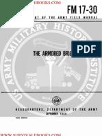 1969 US Army Vietnam War the Armored Brigade 134p
