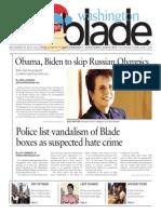 Washingtonblade.com, Volume 44, Issue 51, December 20, 2013