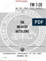 1969 US Army Vietnam War the Infantry Battalions 290p