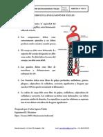 Criterio de evaluación de tecles