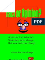 Fact Opinion Practice