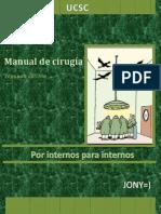 Manual de Cirugía UCSC 2° edición JONY=)