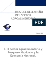 indicadores del desempeño agroalimentario