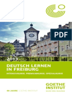 Deutsch Lernen in Freiburg 2013