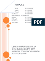 CA Chanel Bloker Dan Potassium Sparing
