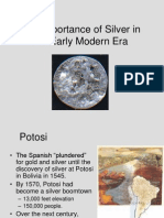 silver in the early modern era