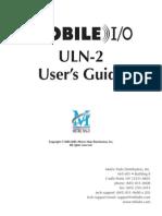 ULN2 Manual