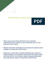 Control Interno y Proceso de Gestion.