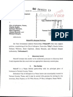 DaVinci Investment vs. City of Arlington, et al