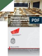 educación 2020. Carrera docente.