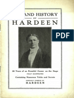 Life and History of Hardeen