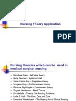 Nursing Theory Application