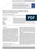 1. Studies on the Mechanical, Thermal, Morphological and Barrier Properties Based on PVA