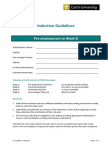 Guidelines for induction
