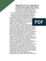 Jose Angel Buesta - biografia & poesias