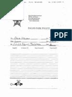 Larry Deetjen Incident Report