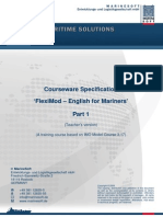 Specification CW Fleximod P1