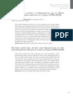 Gonz Lez B. Factores de Acceso y Permanencia de La Elite Politica Chilena