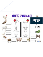 Bruits d'Animaux