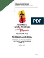 Manual de Fam Mis Xalapa 2012