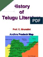 History of Telugu Literature