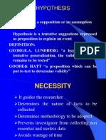 Research methodology II
